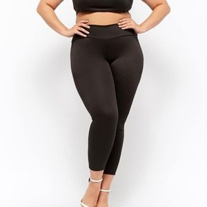 NWT FOREVER 21 PLUS HIGH-WAISTED LEGGINGS SIZE 2X